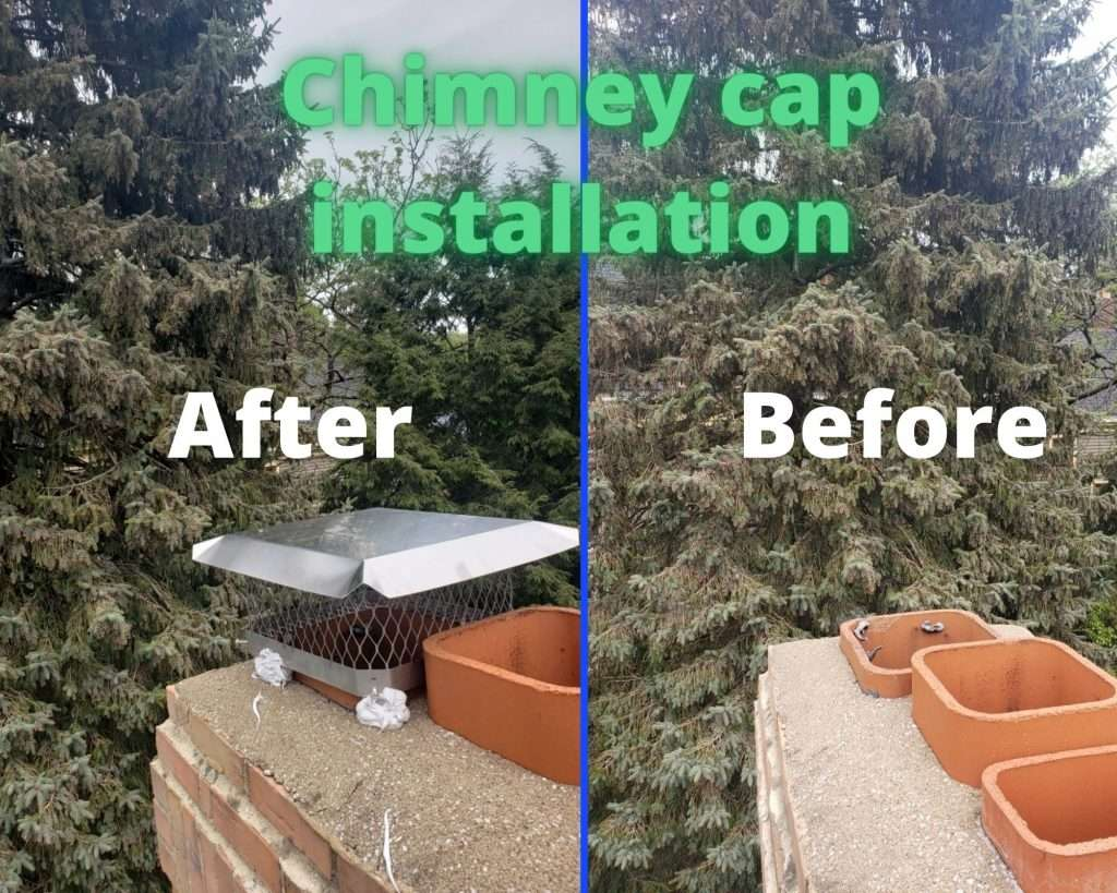 Chimney Caps Installation Service at Green & Clean Home Service