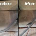 Professional Upholstery Cleaning services at Green and Clean Home Services