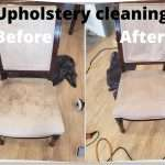 Upholstery Cleaning services at Green and Clean Home Services